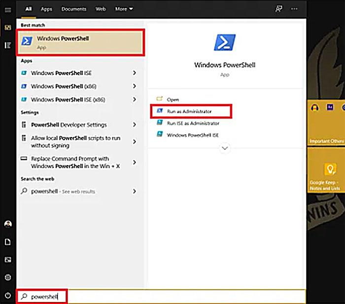 Windows PowerShell - How to Remove Windows 10 Watermark Permanently